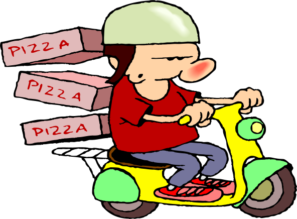 You don t have to deliver pizza