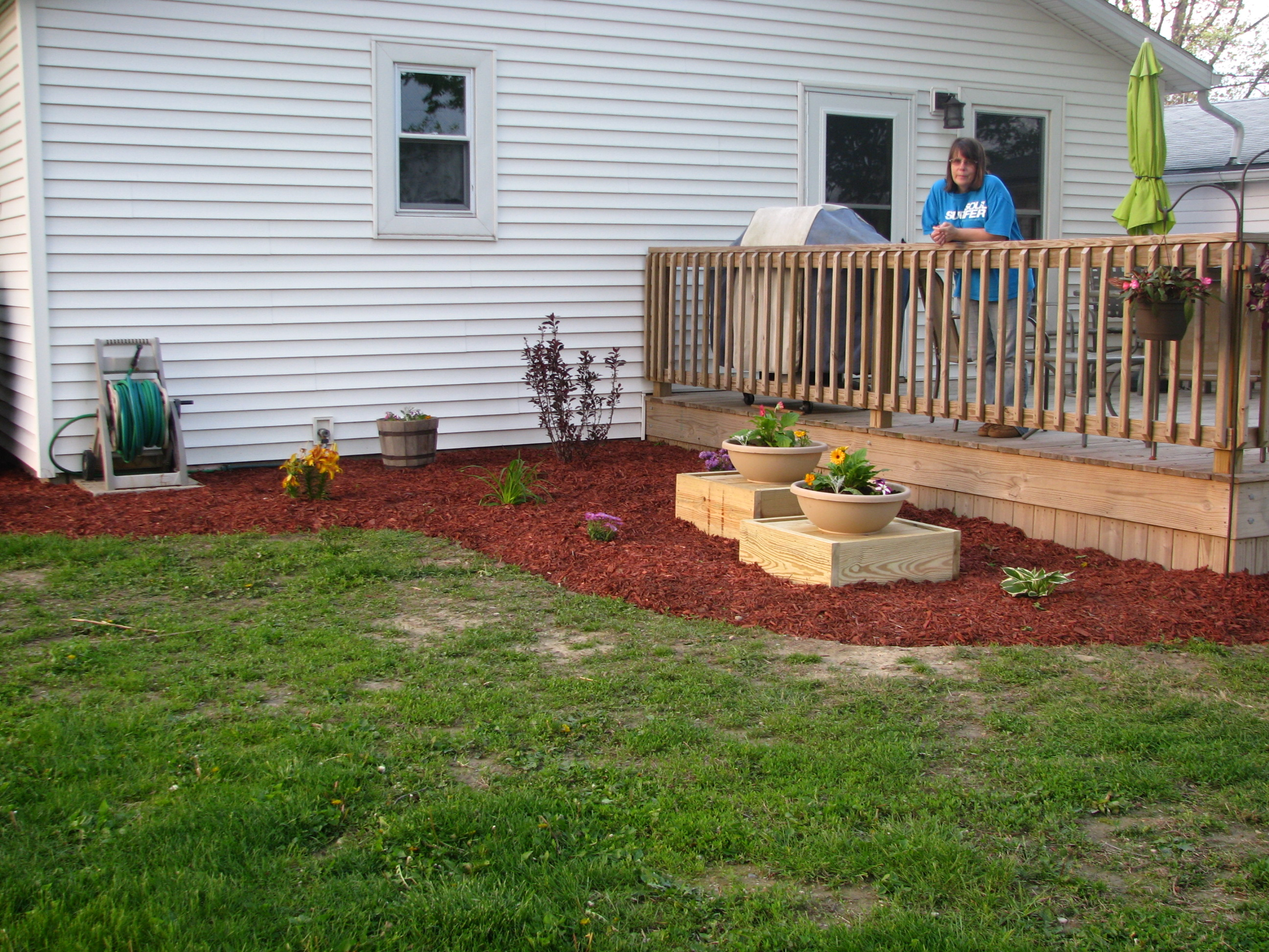 Landscaping Around The House : I wish could say it was complete ilife journey