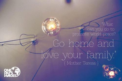 World Peace - Love your family