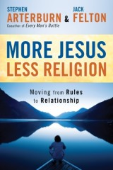 More Jesus - Less Religion - Book Cover