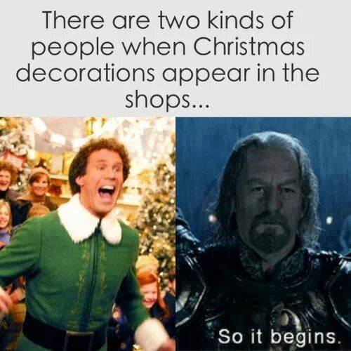 two kinds of people - christmas decorations