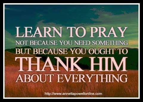Leran to Pray